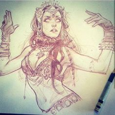 #throwbackthursday to #bellydance #sketch #dook from 3 years ago.. Ahh the good ol days.. keep on keepin on!