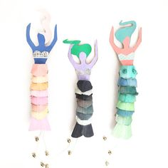 DIY for kids: Egg Carton Mermaid Dolls Projects For Kids, Diy For Kids, Crafts For Kids, Craft Projects, Craft Ideas, Summer Crafts, Fun Crafts, Arts And Crafts, Paper Crafts