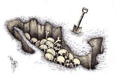 Mexico, a HUGE burial hole.