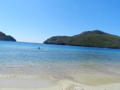 Greece, Sithonia, Poro Koufo beach