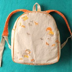 Toddler Backpack Sewing Pattern PDF...worth the money for the pattern!