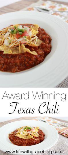 Award Winning Texas Chili