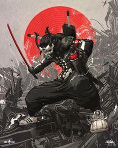Samurai Asian Art