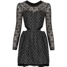 TOPSHOP **Lorna Lace Dress by Jones and Jones found on Polyvore