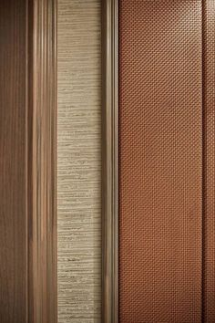 mixing textures Door Design, Wall Design, Leather Wall Panels, Joinery Details, Material Design, Material Board, Inspiration Wall, Wall Patterns, Wall Treatments
