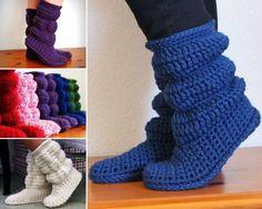Scrunch bed socks