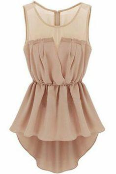 Pink Sleeveless Back Zipper Bandeau High Low Dress