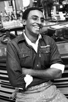 Spotlight On: Marcus Samuelsson Chef Recipes, Food Network Recipes, Cooking Recipes, Tv Chefs, Best Chef, Love To Meet, Love Food, Spotlight, Jane Pauley