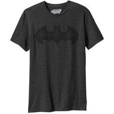 Old Navy Mens DC Comics Batman Tees ($17) ❤ liked on Polyvore featuring men's fashion, men's clothing, men's shirts, men's t-shirts, tops, shirts, black, mens jerseys, mens short sleeve shirts and mens jersey t shirt