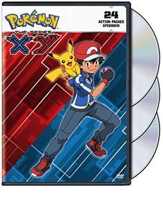 Pokemon the Series: XY Set 1 (DVD)Ash Ketchum's journey continues in Pokémon the Series: XY as he arrives in the Kalos region, a land bursting with beauty, full Kalos Region, Pokemon Movies, Elemental Powers, Kids Clothes Sale, Cute Pokemon Wallpaper, Gym Leaders, Viz Media, Ash Ketchum, New Pokemon