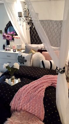 Victoria Secret Inspired Bedroom