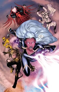 Dc Comics Heroes, Marvel Xmen, Marvel Comics Art, Comic Books Art, Comic Art, All Marvel Characters, Storm Marvel, Symbiotes Marvel, Character