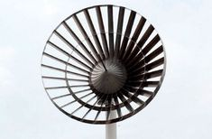"30-Blade Eco Whisper Wind Turbine is ""Virtually Silent"" : TreeHugger"