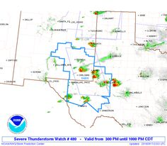 SPC Severe Thunderstorm Watch 480 Status Reports - http://blog.clairepeetz.com/spc-severe-thunderstorm-watch-480-status-reports/