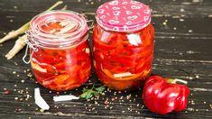 Gogosari murati in otet fara fierbere sau conservanti Fall Recipes, Pickles, Salsa, Food And Drink, Jar, Stuffed Peppers, Vegetables, Youtube, Autumn