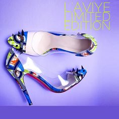 AMELIA SHOES:  http://www.laviye.com   African print shoes, African inspired heels, shoes, ankara shoes