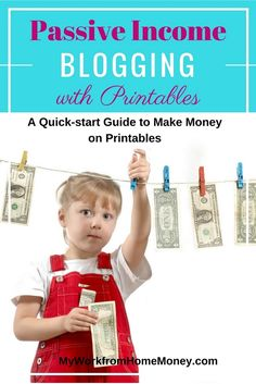 Passive income blogging with free printables I so needed to find this earlier. I have been blogging from home for a year but just can't seem to make money blogging. This post shows every step to make money blogging with printables and digital products. Great resource for work from home people. Head over to read this post. passive-income-blogging-printables-guide
