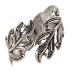 Bracelet | Margot de Taxco. Sterling silver. ca. 1950s