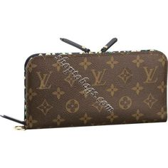 Louis Vuitton Monogram Canvas Insolite Wallet Leopard M60101