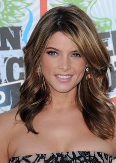 Long Brown Hair Highlights Hairstyles.  Growing it out.... :)  Getting real tired of you Pixie Cut.