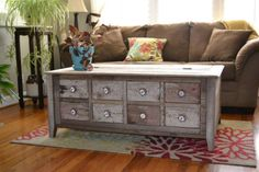 thefashionboutique:Rustic Coffee Table  Made to order //