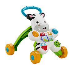 Uren doorbrengen met de vriendelijke zebra zorgt voor veel plezier. De zebra is een vriendje om zittend mee te spelen, maar groeit ook mee met de baby tot een loop speeltje. Met de vrolijke kleurtjes en liedjes vult het zebra vriendje het huis met gezelligheid. Daarnaast ...