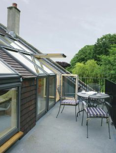 VELUX roof terrace Let your window become your door to the outside. VELUX roof…