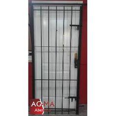 Aberturas Puerta Reja Con Cerradura Y Dos...
