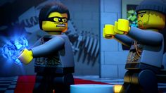 Museum Heist - LEGO City - Mini Movie This is the dream ...right here. Kids love museums!!!!