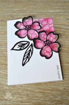 Lostinpaper - Altenew Hennah Elements - Julie Ebersole - Bohemian Garden - Wild Garden card