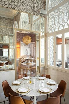 Liza Beirut Restaurant Designed by Marc Soughayar  Maria Ousseimi | Yellowtrace