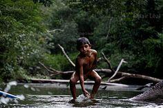 Os sobreviventes se refugiaram na bacia do rio Içuã. Nos anos 1960, sobreviviam no Igarapé da Onça, próximo a Tapauá, algumas dezenas de índios Juma. Índio Juma - Material produzido para Amazônia Real  Foto: Odair Leal/AR