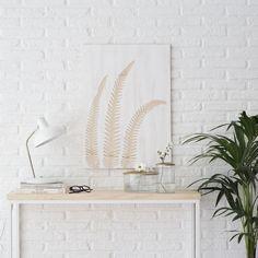 Mural Philo | Murales originales! Este modelo de madera con dibujo de hojas es perfecto para decorar el salón, o el rincón que prefieras de tu hogar. ¡Conseguirás dar un toque natural diferente y bonito! Puedes combinarlo con los otros modelos: Monstera mural y Areca mural.