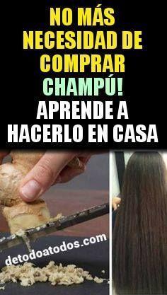 No Mas Necesidad De Comprar Champu Use Bicarbonato De Sodio Y