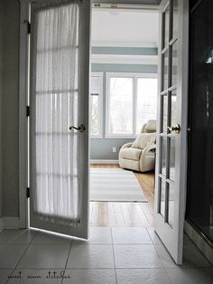 French Door Curtains   Breakfast Room  Curtains For French Doors