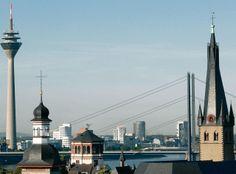 Düsseldorf #oldtown #skyline #hometownlove