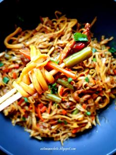 Appetisers, Wok, Pasta Salad, Appetizer Recipes, Food And Drink, Dinner, Ethnic Recipes, Gastronomia, Diet