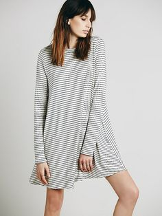 Free People Striped Elise Dress at Free People Clothing Boutique