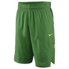 Oregon Ducks Nike Replica On-Court Basketball Shorts - Apple Green - $59.99