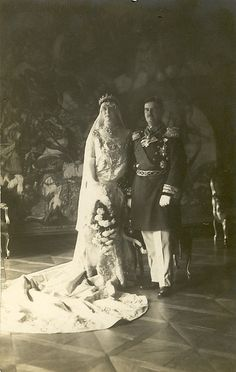 prince Christian von Sachsen + Princess Thurn Taxis by Miss Mertens