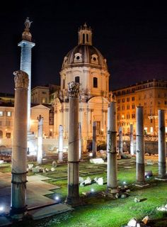 Foro traino. Rome, Italy