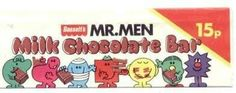 Bassetts Mr.Men chocolate bar