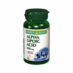 """NATURES BOUNTY ALPHA LIPOIC ACID 100MG 30 CAPSULES by NATURE'S BOUNTY ***. $10.05. Alpha Lipoic Acid (ALA) is often called the """"universal antioxidant"""" because of its powerful antioxidant properties*"""