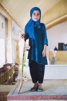 Skate Girls of Kabul – Portraits émouvants des jeunes skateuses en Afghanistan