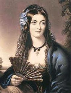 The beautiful, and notorious Lola Montez.