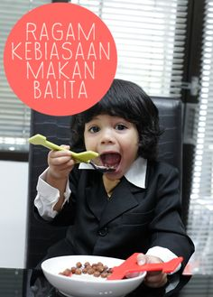 Ragam Kebiasaan Makan Balita :: Happy eating :: How to make your child loves food :: Children and Food