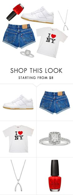 """""""Summer 2017"""" by rrraine on Polyvore featuring NIKE, Boston Bay Diamonds, Primrose and OPI"""