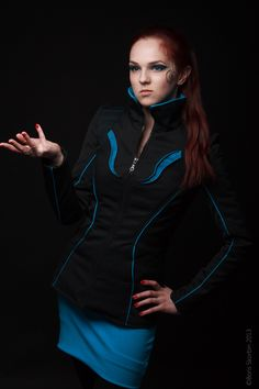 Sci fi inspired jacket
