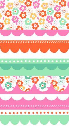 floral pattern & color