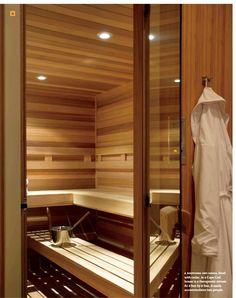 Home sauna project